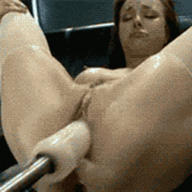 First Time With A Fuck Machine