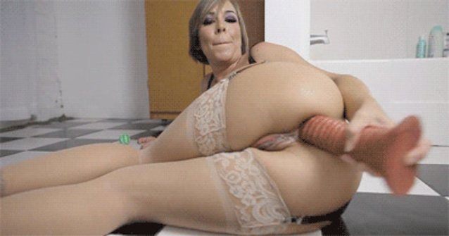 Mature milf insertion gifs — pic 13