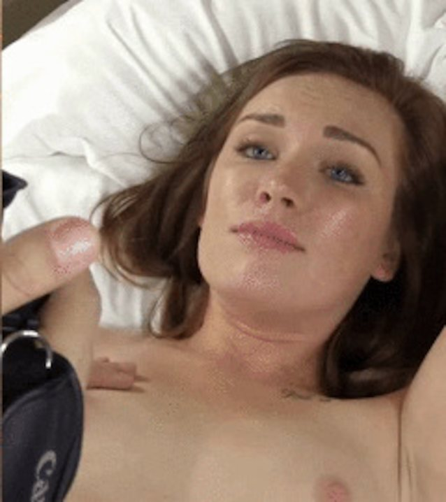 Teen orgasm face porn, swelling cock sperm into my womb