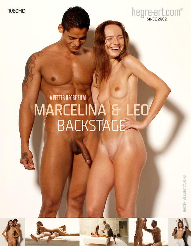 backstage marcelina Hegre leo