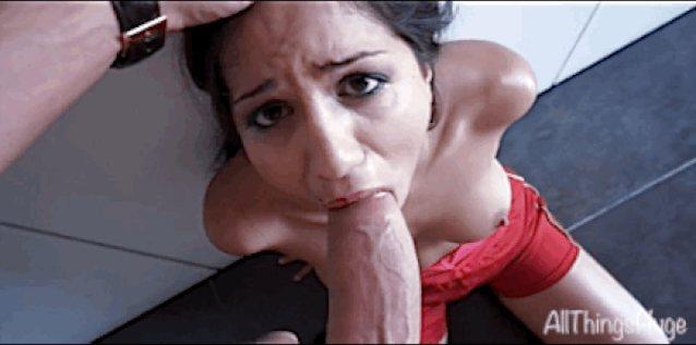 Deepthroat Banged Webcam Drilled Her Face Jizzed 1