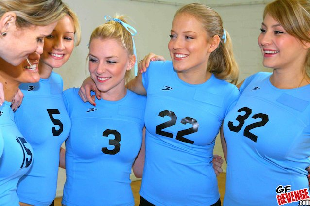 Female volley ball porn — pic 14