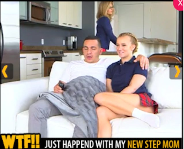 "'WTF just happened with my new step mom"" Full Scene please"