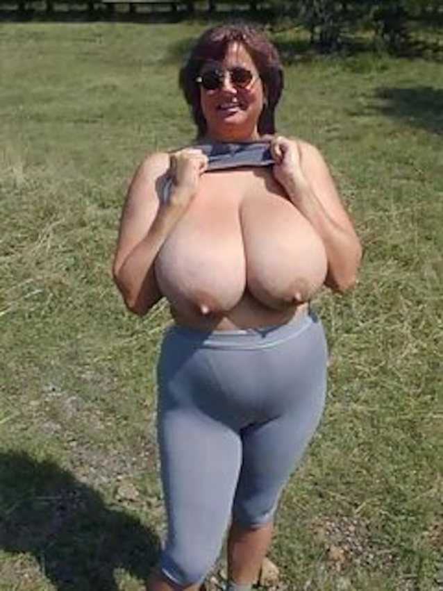 Who Is This Busty Granny
