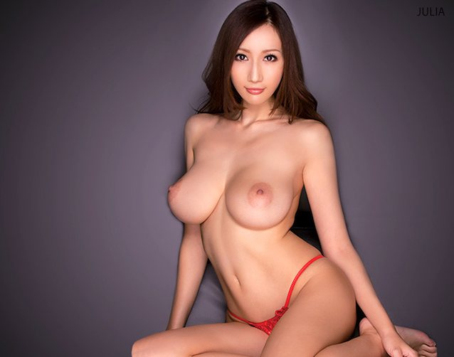Julia Boin Asian Brunette Babe With Naked Real C Size