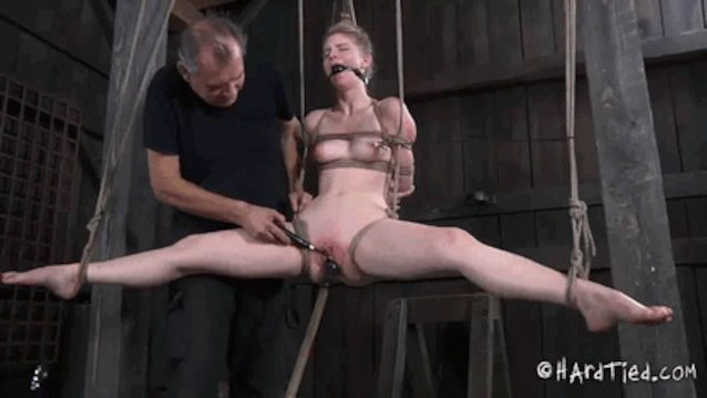 Tied to sex orgasm #9