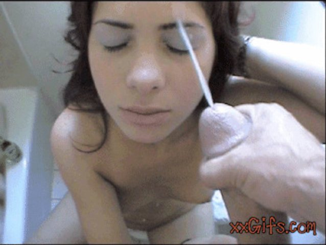 Cumming On Face Gifs