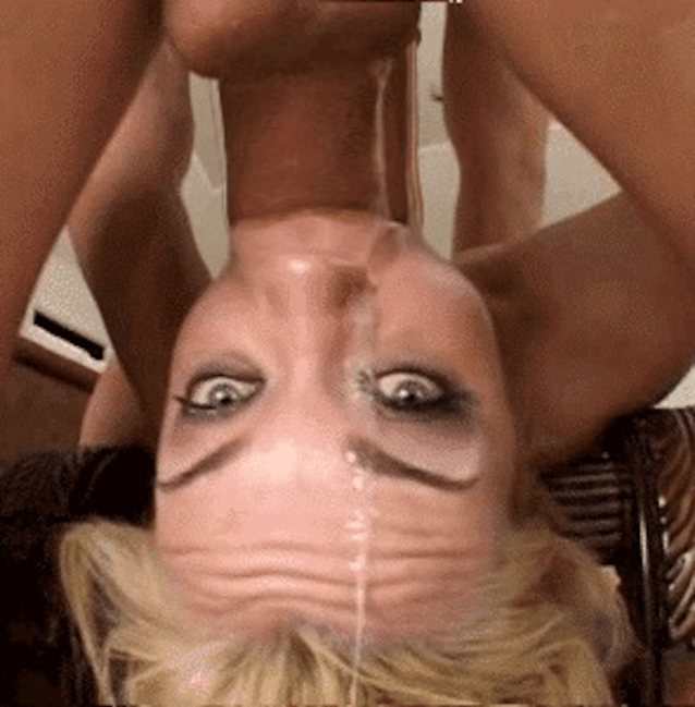 See and save as sloppy facefucking porn pict