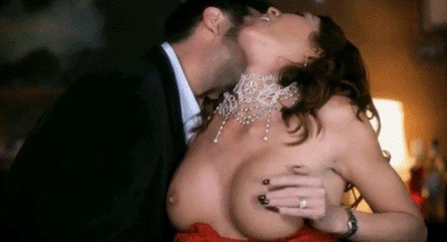 Nipple licking fingering