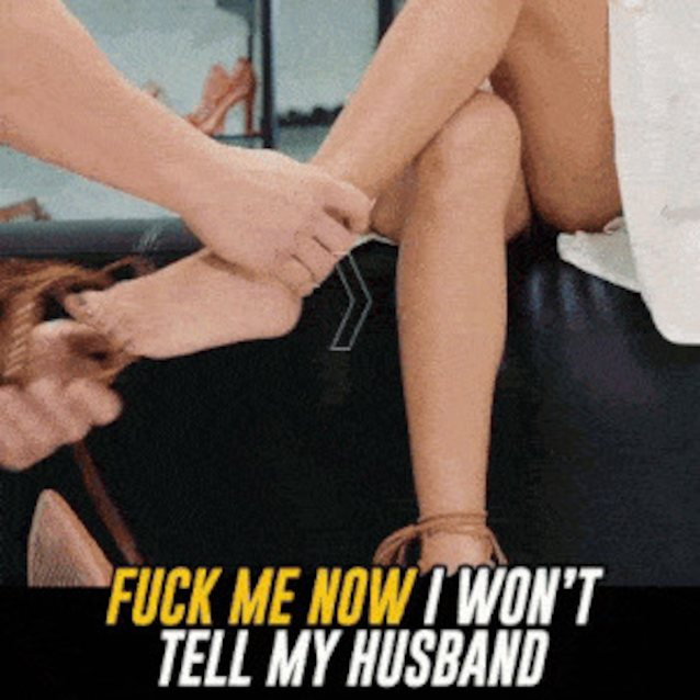 My husband fuck me