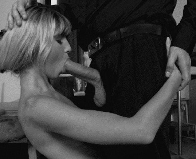Mature brunette wife hotel room blow job oral sex