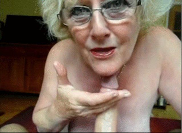 Granny handjob cumshots