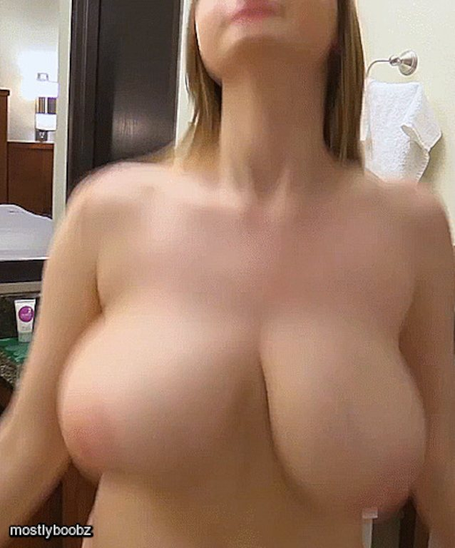 Big Beautiful Tits Bouncing