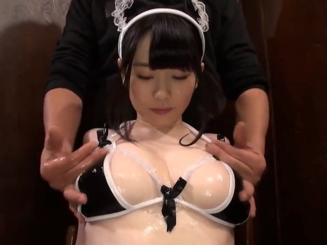 Japanese Oil Toy Masturbation