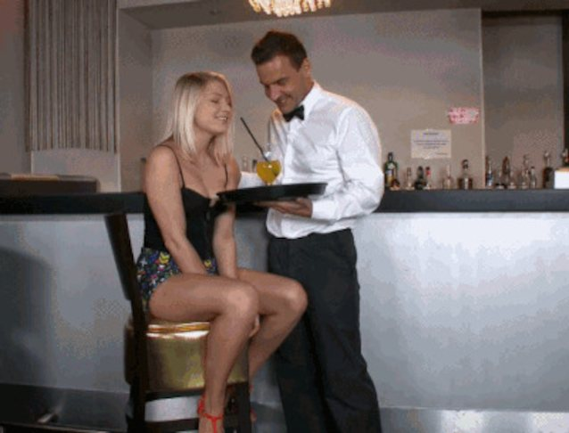 Fucked her in the restaurant free photo with sienna west