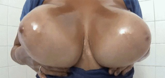 Anal riding with big huge natural tits flopping around