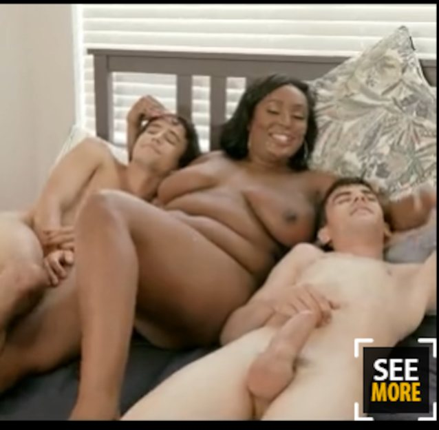 Bbw Ebony Amateur Threesome