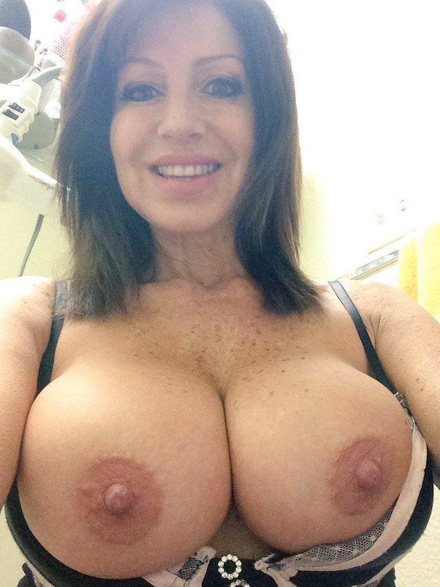 breasts Milf natural