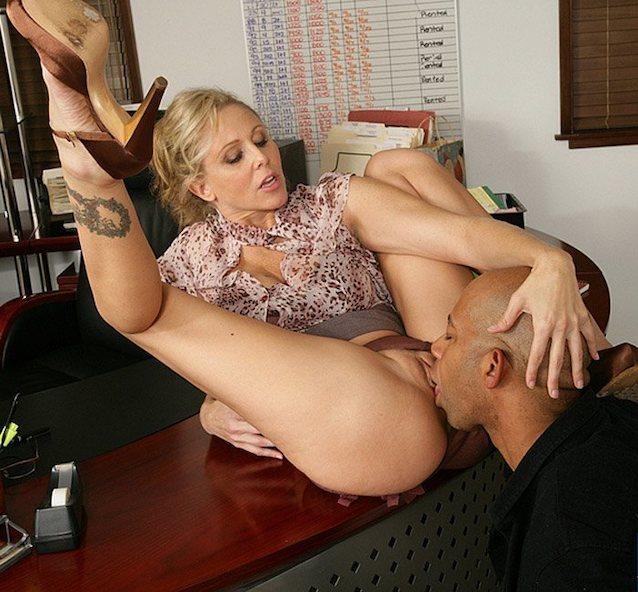 Порно Училка Залез Под Стол