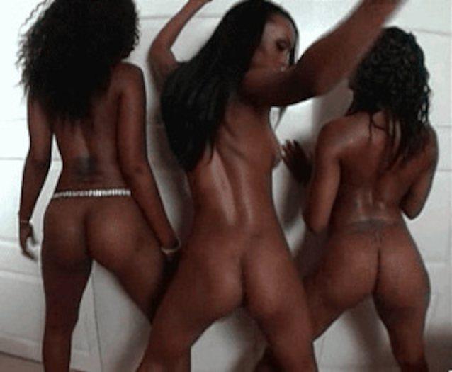 Голые Девушки Танцуют Тверк Видео