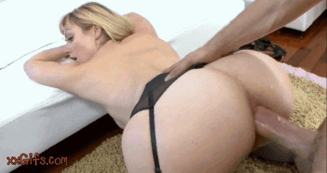 Gif blonde gap thighs milf