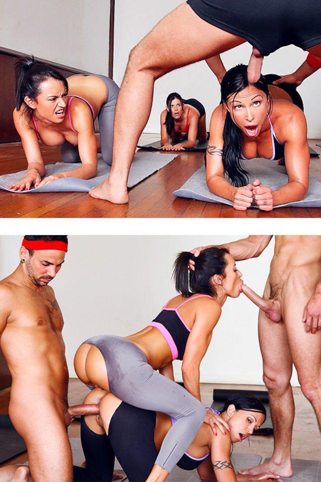 Nude Asian Yoga