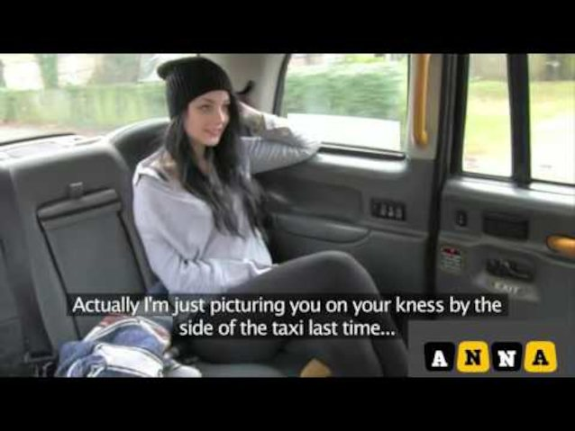 Busty Brunette Fake Taxi