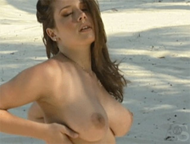 Huge jumping boobs gif