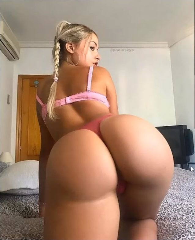 Big Ass Short Hair Blonde
