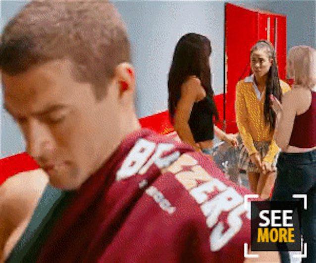 Ebony Teen Laundry Room