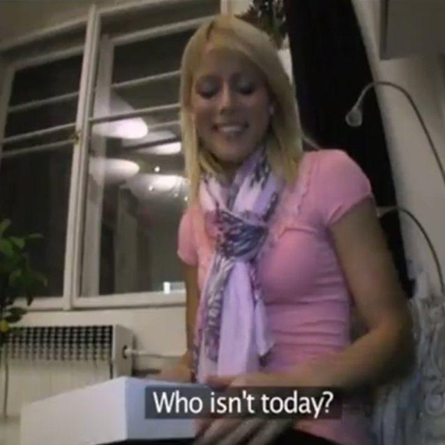 Blonde Public Bathroom Fuck