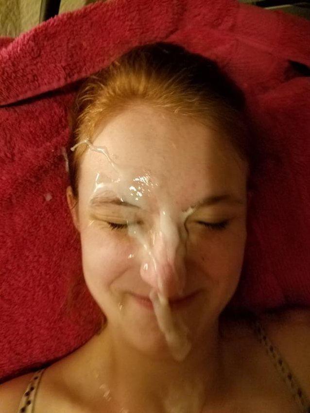 on face Cumming